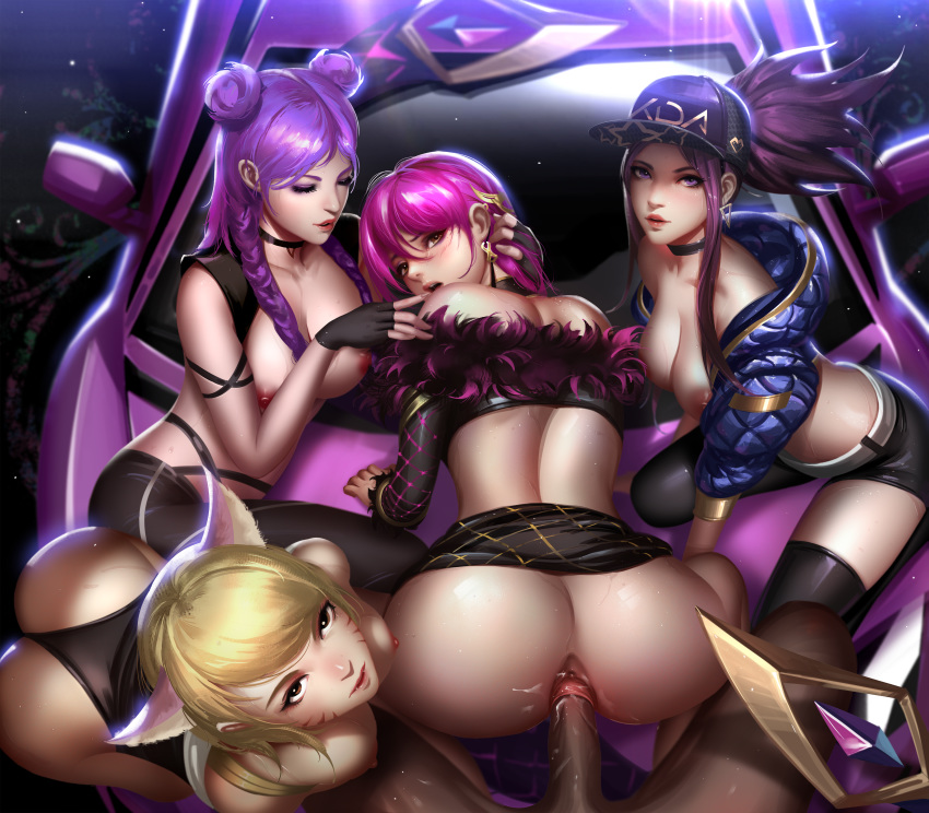 Photo of KDA Ahri, KDA Akali, KDA Evelynn & KDA Kai'Sa