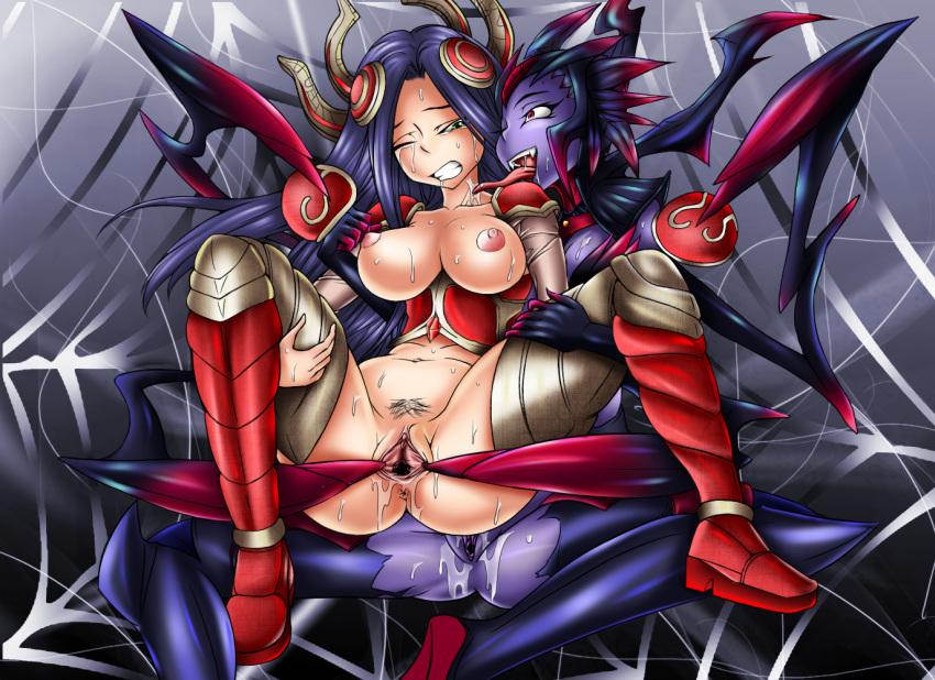 Irelia & Elise Hentai