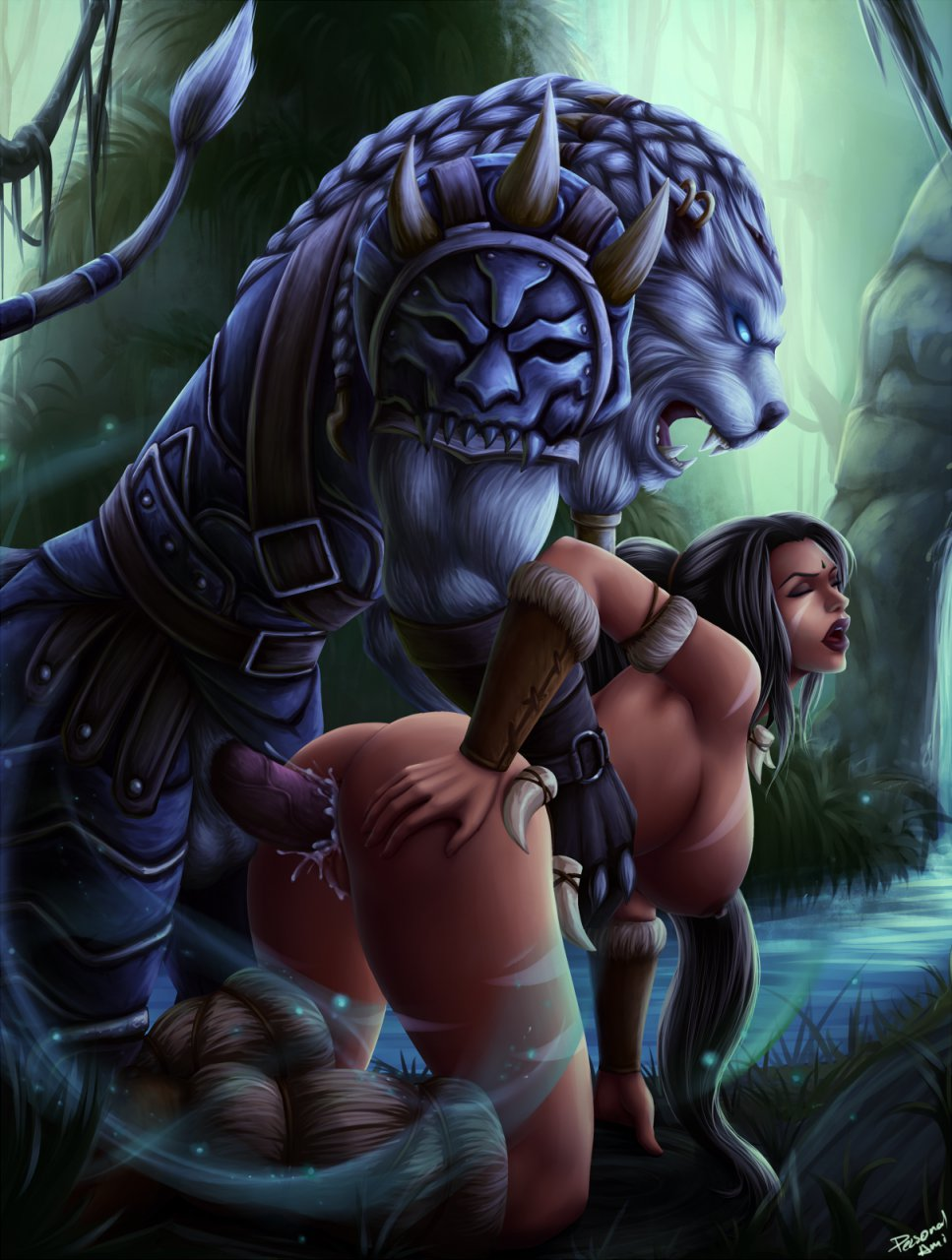 Photo of Rengar & Nidalee