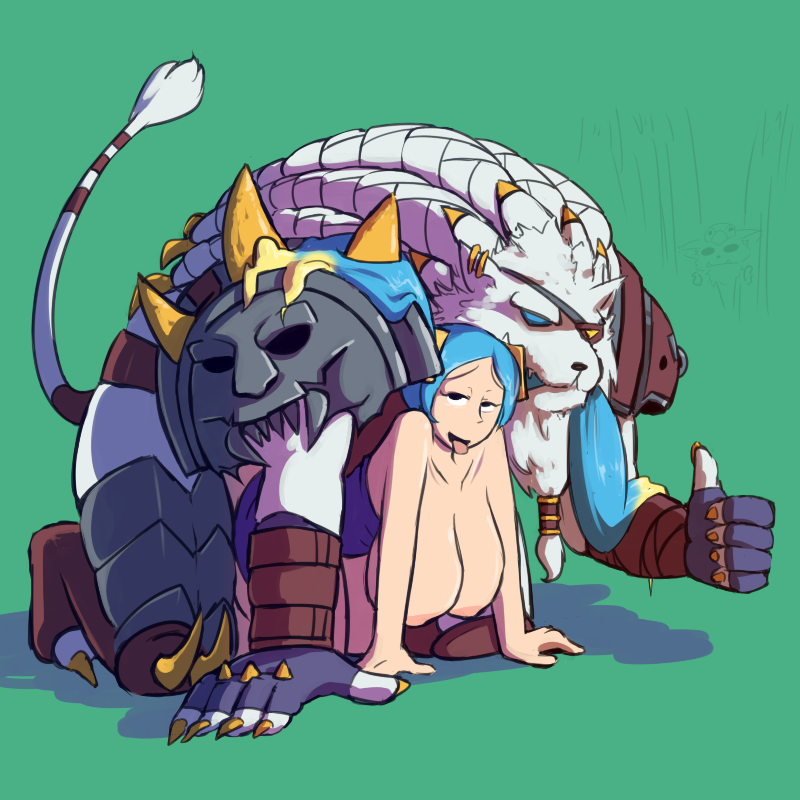 Photo of Rengar & Sona