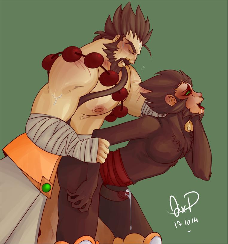 Udyr & Wukong Hentai