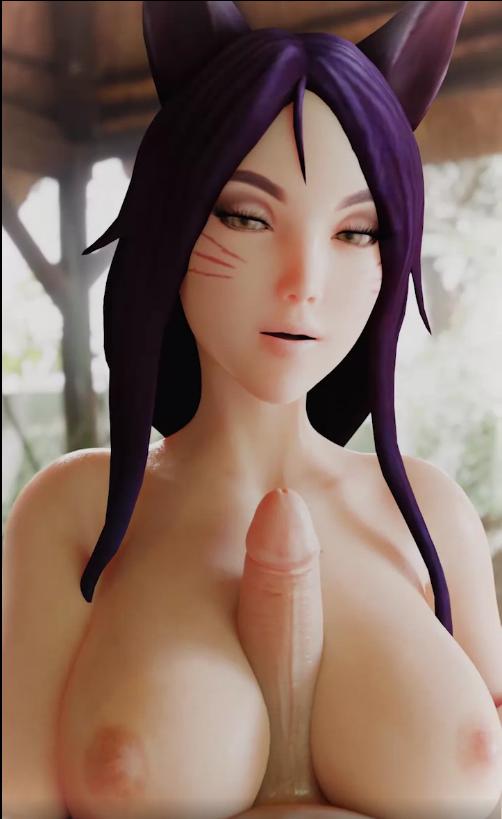 Ahri Hentai