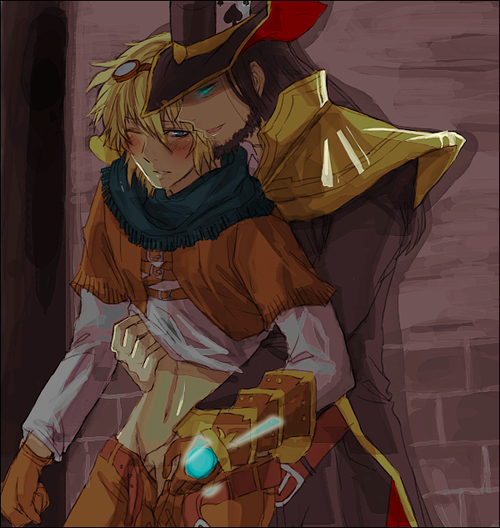 Photo of Twisted Fate & Ezreal