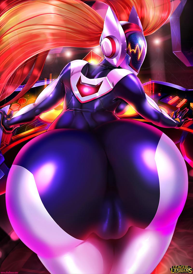 [NO TEXT – ARTIST CG] ShadBase ~ Undressing DJ Sona Hentai