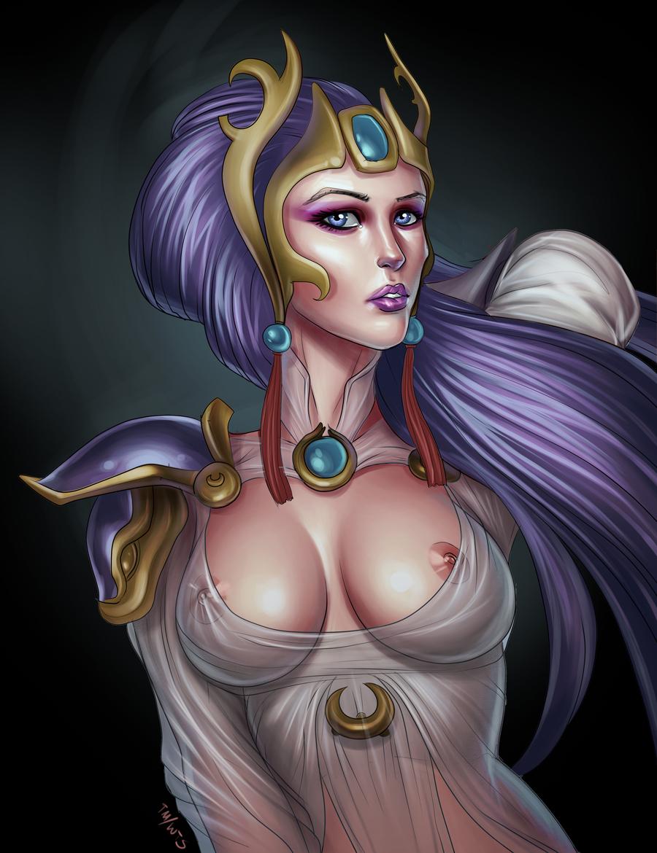 Photo of Lunar Goddess Diana
