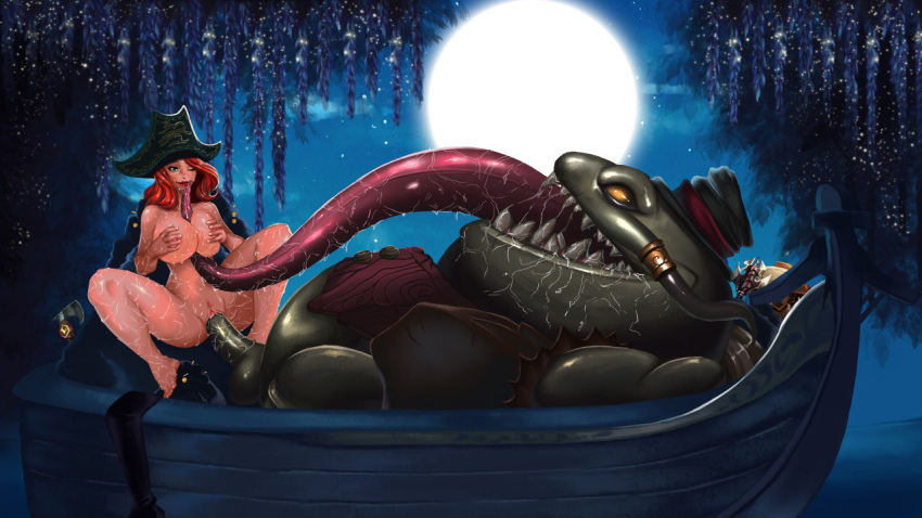 Photo of Miss Fortune & Tahm Kench