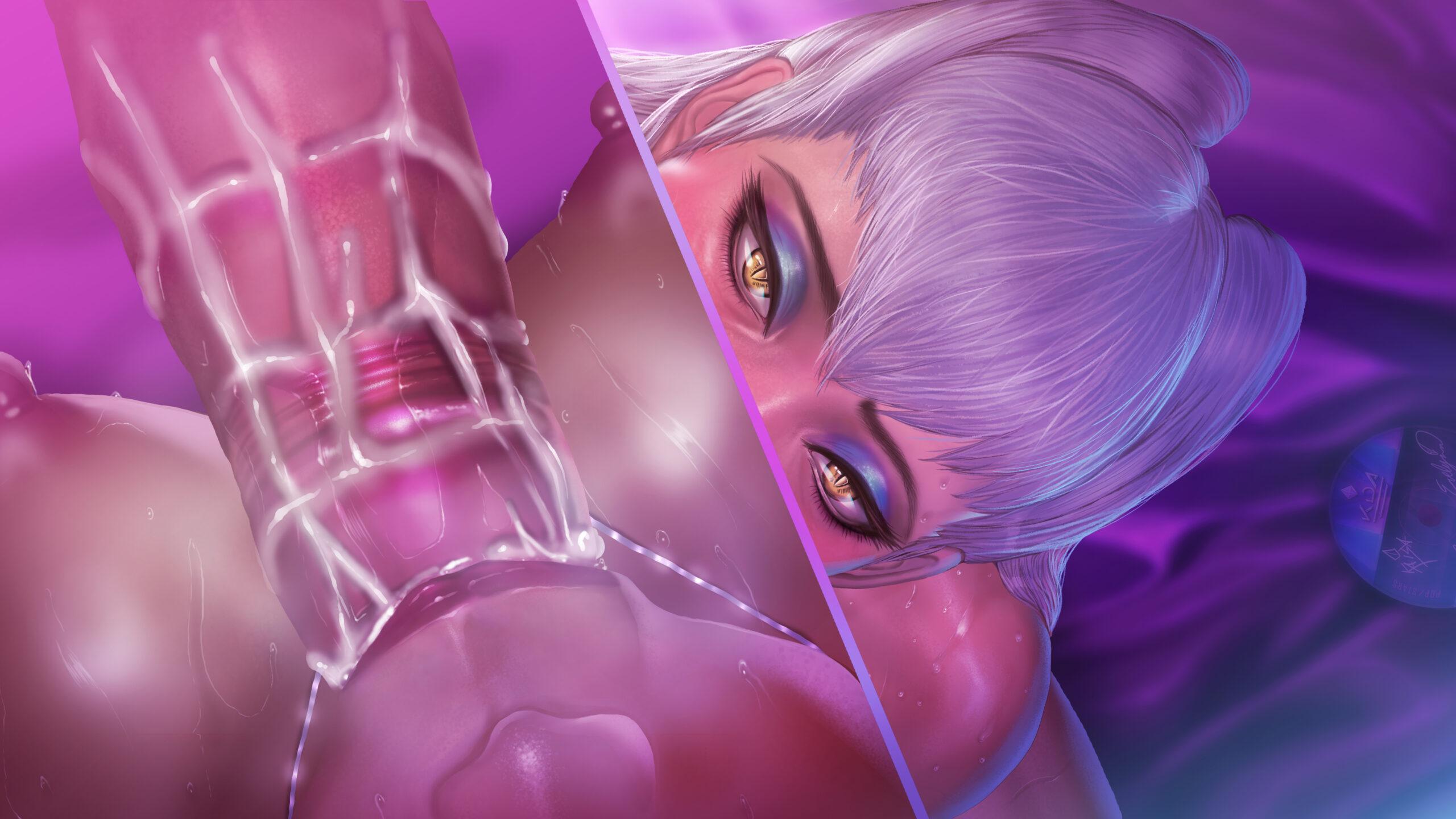 [NO TEXT ~ Artist CG] Roke ~ KDA Evelynn 1 : Blowjob Hentai