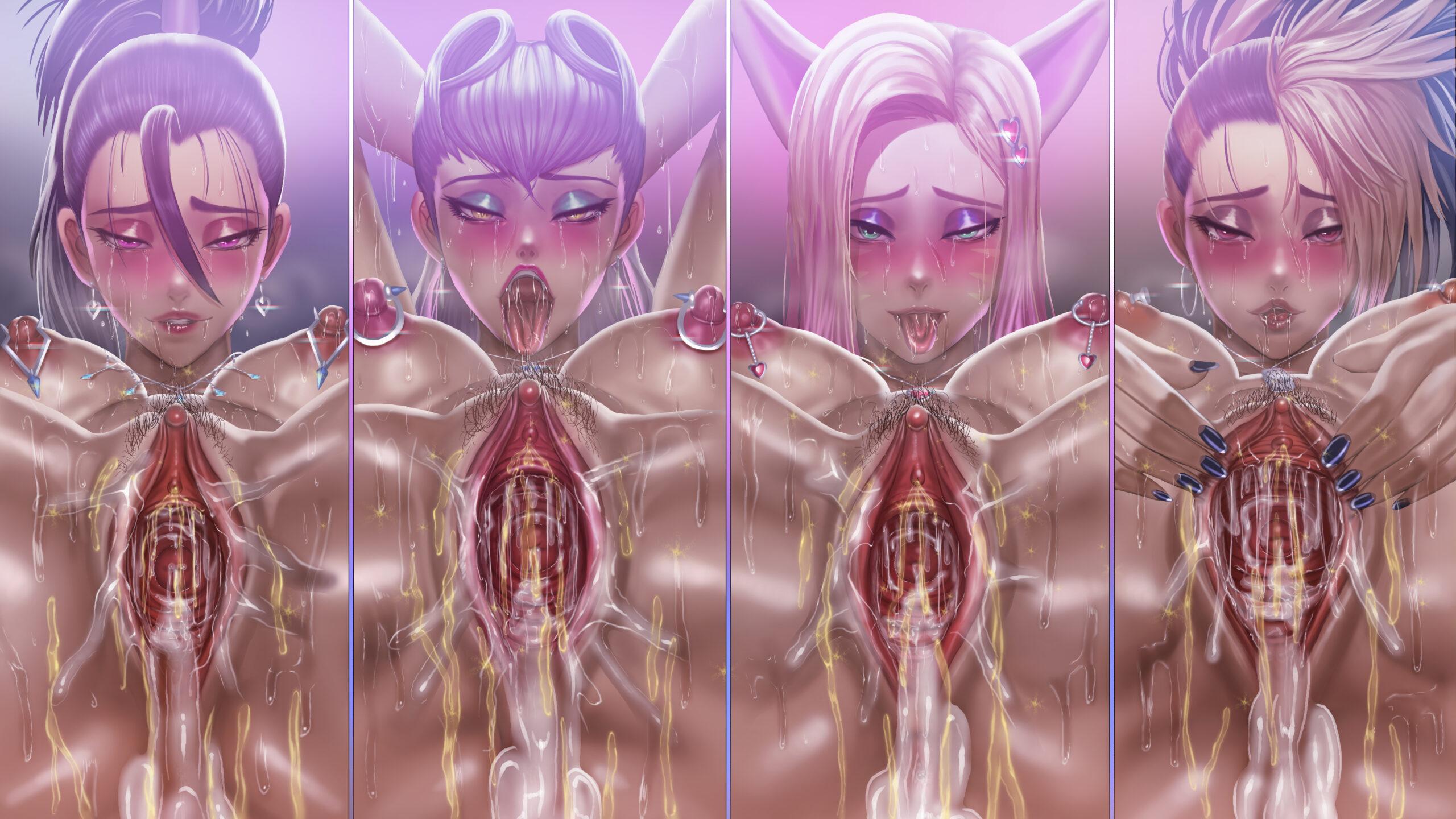 [ENG - ARTIST CG] Roke ~ KDA Limited Edition Hentai