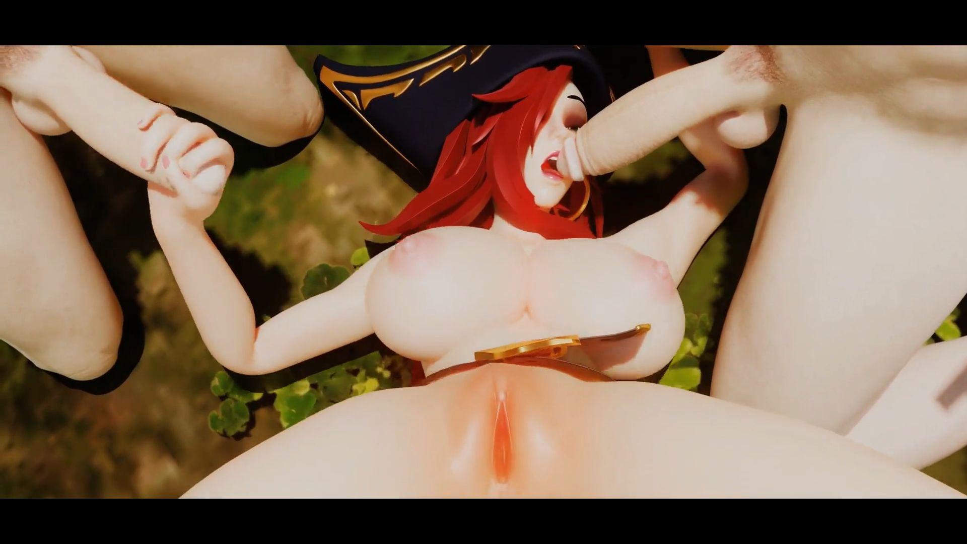 Miss Fortune Banged Hentai