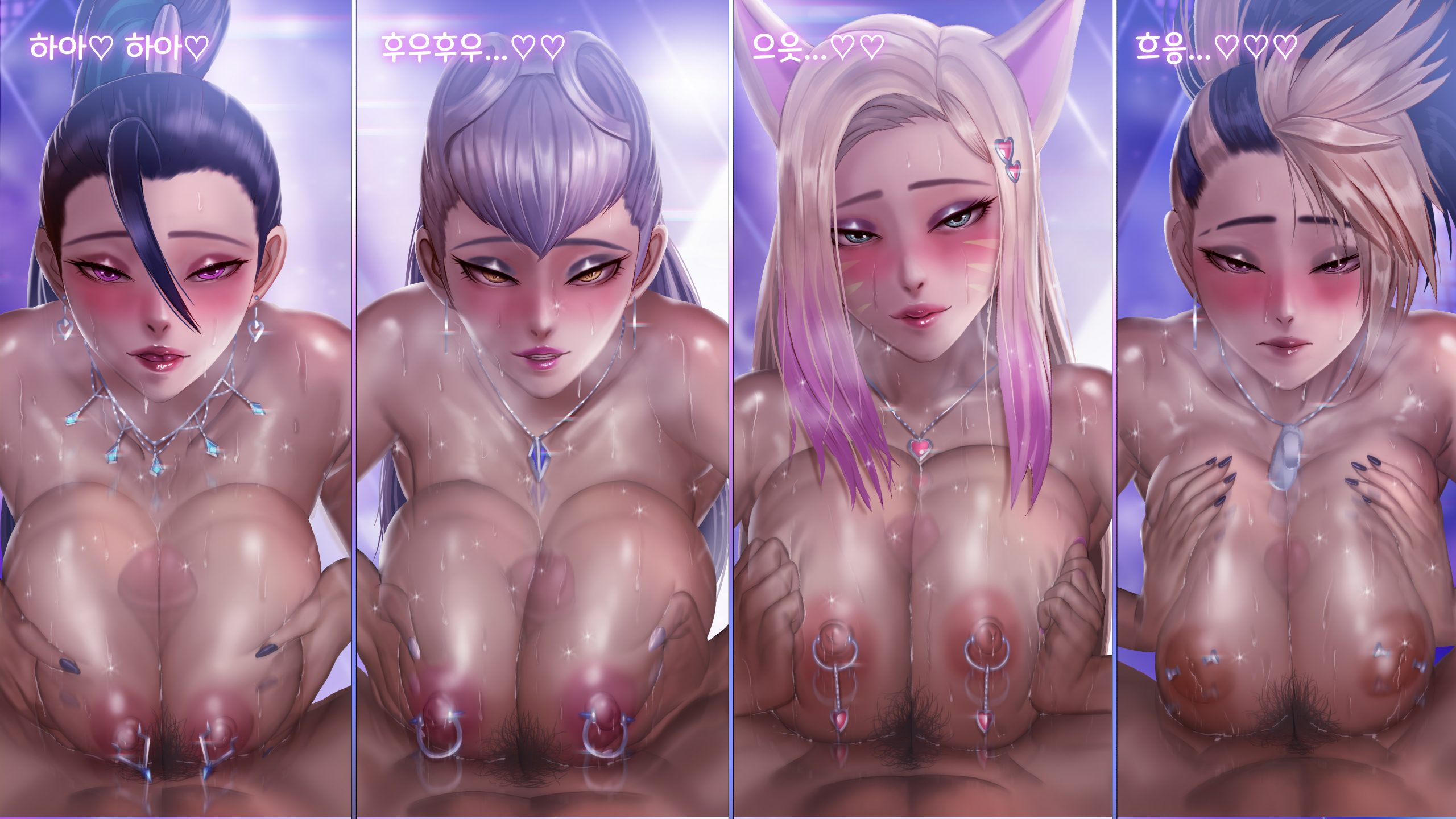 [NO TEXT - ARTIST CG] Roke ~ KDA Limited Edition Hentai