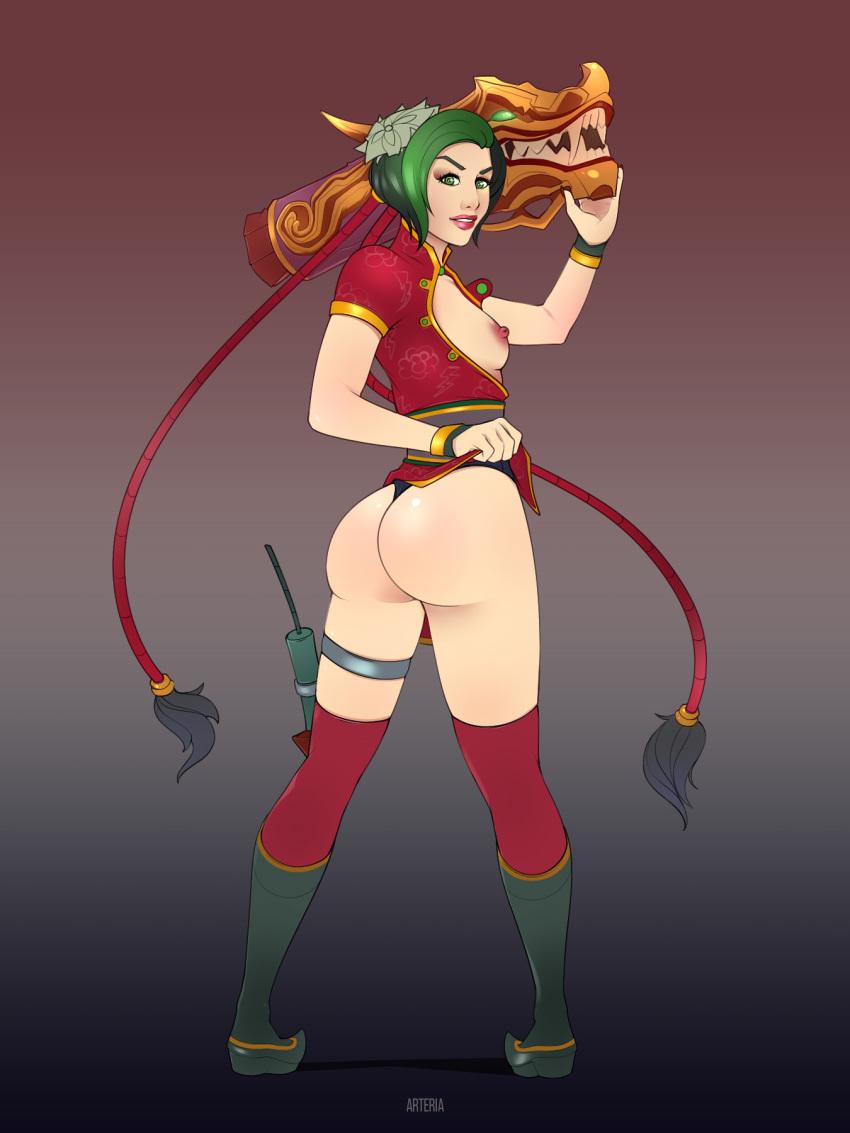 Firecracker Jinx Hentai